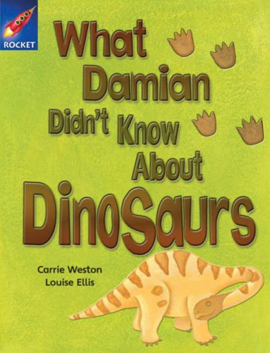 What Damian didn't know about dinosaurs