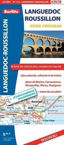 LANGUEDOC ROUSSILLON ROUTIERE ET TOURISTIQUE PREMIUM
