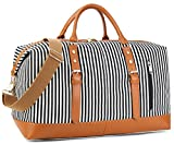 Best BLUBOON Bag For Men - BLUBOON Weekender Overnight Bag Travel Women Ladies Canvas Review