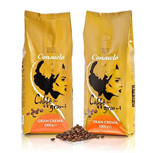 Consuelo Gran Crema - Café en grano italiano - 2 x 1kg