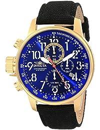 INVICTA  1516 - Reloj de cuarzo para hombre, con correa de tela, color negro