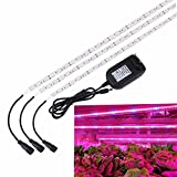 LED Pflanzenlampe,SOLMORE 3PCS LED Pflanzenlicht Strip...