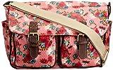 SwankySwans Girls Hayley Daisy Rose Dragonfly Satchel Pink
