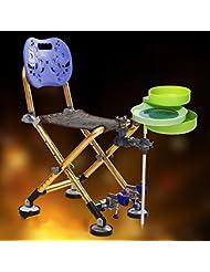 BUSL Taiwan chaise chaise de pêche de pêche chaise de pêche pêche ultra-léger portable pliable en aluminium Accessoires