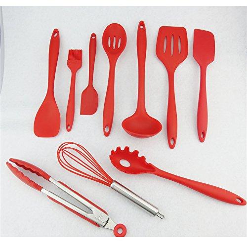 TWH 10 Silicone Kitchen Utensils...
