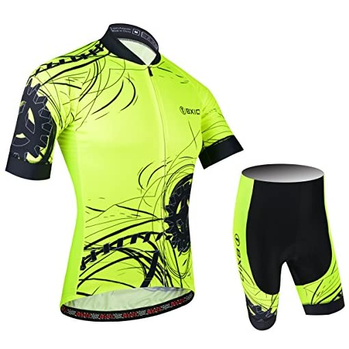 BXIO Cycling Jersey Fluo