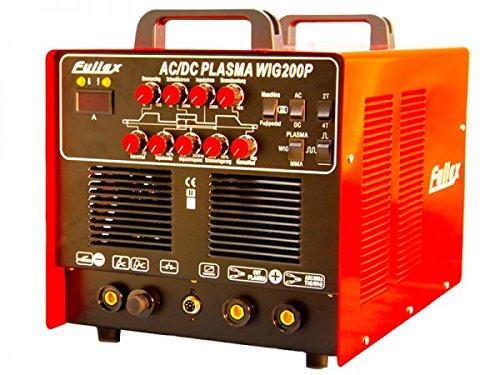 AC / DC WIG 200 Puls mit Plasmaschneider ALUMINIUM / STAHL / EDELSTAHL / KUPFER - MIT ALU & PULSFUNKTION