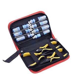 10 in 1 Werkzeug Set Tasche für RC Flugzeuge Hubschrauber Helicopter Schraubendr