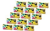 """Partykamera """"Let`s have Fun"""" - 15er Pack Einwegkamera mit Blitz (27 Aufn. 400 ASA) Bild"""