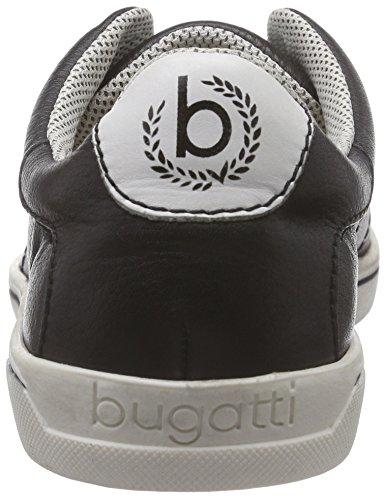 Bugatti Herren Halbschuhe Schwarz, 641153-1 schwarz
