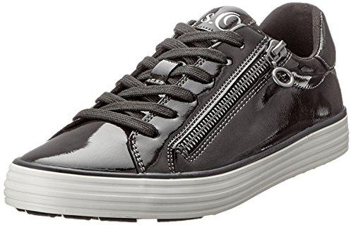 s.Oliver Damen 23615-21 Sneaker, Grau (Grey Patent 213), 37 EU