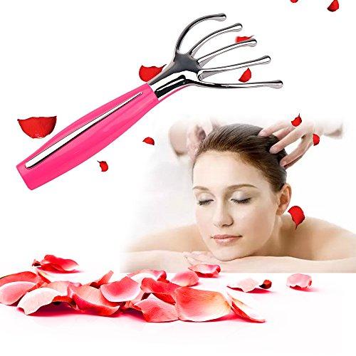 Kopfmassagegerät, elektrische Kopfmassagegerät Nackenmassagegerät, Kopfmassagegerät Kopfhaut geeignet für Haarwachstum, Entspannung und Stimulation der Kopfmassage, verbessern die Blutzirkulation