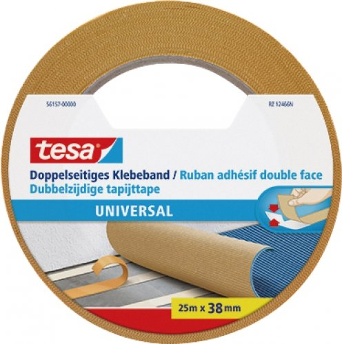 Tesa Doppelseitiges Klebeband, Universal