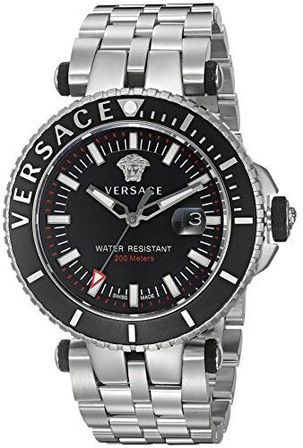 Versus Versace Reloj Analogico para Hombre de Cuarzo con Correa en Acero Inoxidable VAK030016