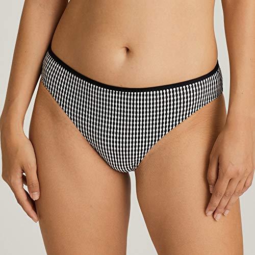 Prima Donna Swim, Damen Bikini-Rioslip, Atlas 4006750 (46, schwarz) - 2