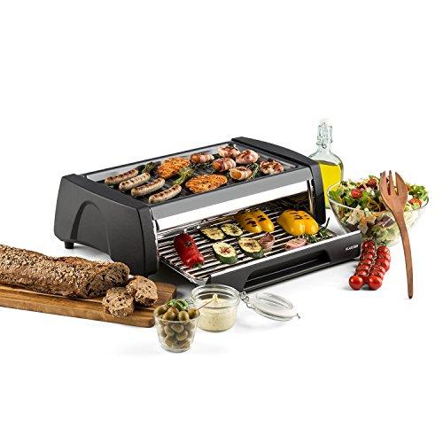 Klarstein Doppeldecker, barbecue elettrico da 1500 watt