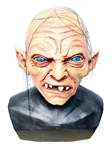 Hochwertige Latex-Maske in Lebensmittelqualität - Gollum