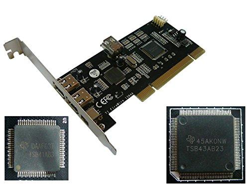 kalea-informatique-c-carte-controleur-pci-vers-firewire-400-ieee1394a-4-ports-double-chipset-texas-i