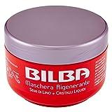 Bilba - Maschera Rigenerante, Semi di Lino e Cristalli Liquidi, 400 ml - [confezione da 6]