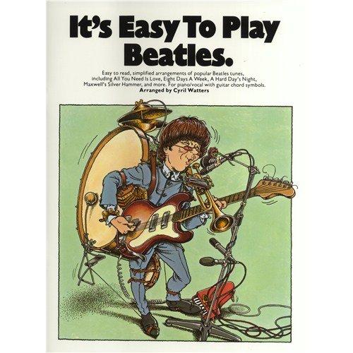It's Easy To Play: Beatles Volume 1. Partitions pour Piano, Chant et Guitare(Symboles d'Accords)