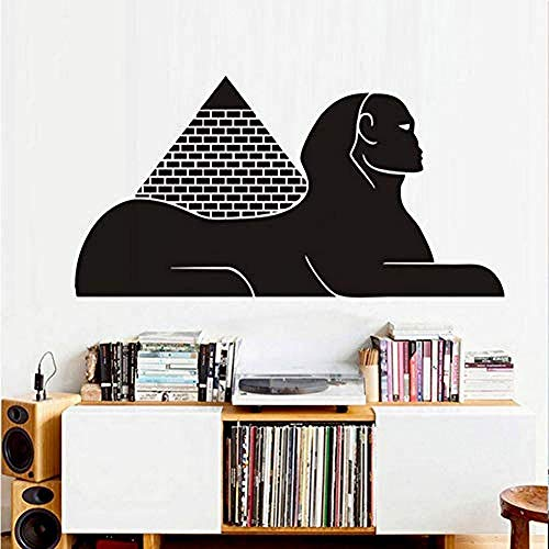 Wandtattoos & Wandbilder Ägyptische pyramide sphinx wandaufkleber design vinyl selbstklebende tapete wohnzimmer dekoration zubehör niedlich wand Art83x43cm
