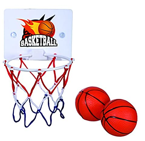 Executive Toy - Novelty Bathtime Basketball Net - Best Seller Ideal Present Gift Idea for Christmas Xmas Stocking Fillers Secret Santa Valentines Anniversary Birthdays Easter - Man Men Mens Gents Him Ladies Women Lady Woman Her - One