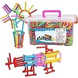 Sun lamps- Palillo de la magia de los bloques huecos de plástico Lucha Puzzle DIY hecho a mano de los niños 's Juguetes ( Tamaño : 1 Set 318 )