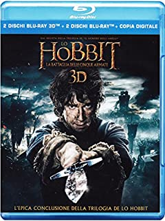 Lo Hobbit: la Battaglia delle Cinque Armate (Blu-ray 3D);The Hobbit - The Battle Of The Five Armies;The Hobbit: The battle of the five armies [Blu-ray] (B00R6D069Y) | Amazon price tracker / tracking, Amazon price history charts, Amazon price watches, Amazon price drop alerts