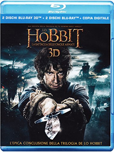 Lo Hobbit: la Battaglia delle Cinque Armate (Blu-ray 3D);The Hobbit  - The Battle Of The Five Armies;The Hobbit: The battle of the five armies