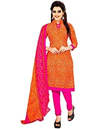 Crazy Women's Printed Cotton Unstitched Salwar Suits With Cotton Dupatta