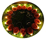 Citra Led Warm White Decoration Lights - 21 Extra Bright Diya String Light For Diwali