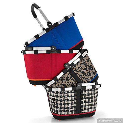 Reisenthel - Paniere, cesto per la spesa/da picnic con manici, colore e motivo a scelta, artist stripes (multicolore) - BL3058 - - funky dots 2 - rot