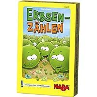 HABA-304275-Erbsenzhlen-lustiges-Lernspiel-fr-erstes-Zhlen-und-Rechnen-im-Zahlenraum-1-6-Spiel-ab-6-Jahren