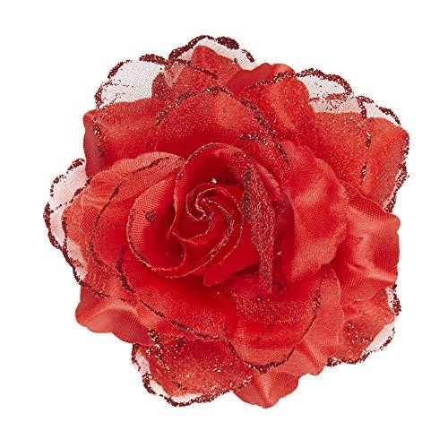 Widmann- rosa molletta per capelli donna, multicolore, 04121