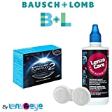#8: Bausch & Lomb Purevision 2 HD Monthly Contact Lens (6 Lens Pack) with Free Lens Care Kit By Lens4Eye