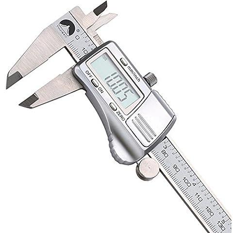 0–150mm/0.01Digital Electronic Vernier Calipers micrometer Gauge measuring Tool Stainless Steel