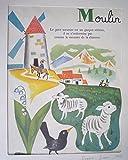 Illustration de Romain Simon : Moulin (Mon grand alphabet)