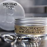 Tigi, Bed Head for Men, cera per modellare i capelli,effetto opaco, 75 g (etichetta in lingua italiana non garantita)