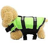 Artistic9 Kleine Hunde-Decke, für Haustiere, Welpen, verstellbar Doggy Leben Jacke mit Rettungs-Griff mit Zubehör