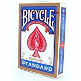 "Bicycle 808 ""Rider Back"" Standard Deck in rot oder blau"