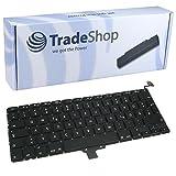 Trade-Shop Premium Laptop-Tastatur / Notebook Keyboard Ersatz Austausch Deutsch QWERTZ für Apple Macbook Pro Unibody 33,8cm 13,3