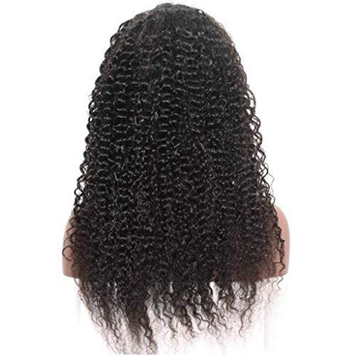 Lange Haare Perücke,Rifuli®Brasilianische lange verworrene lockige synthetische Lace Front Perücke lose lockige Perücke schwarze Frauenlockig Haar Wig