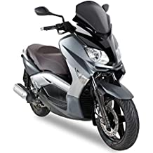 Kappa - Yamaha x-max 125-250 2010 > parabrezza basso sportivo nero 37 x 43 cm
