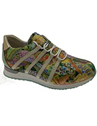 katt_brand Zapatillas Para Mujer, Color Plateado, Talla 4 UK