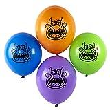 cama24com Lustige Monster Luftballons Monsterparty Kindergeburtstag Halloween 12 Stück