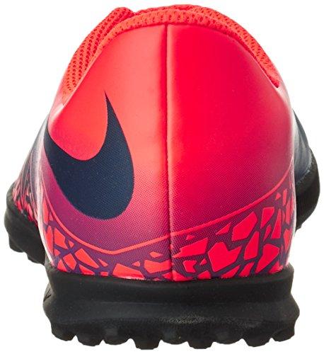 Nike Unisex-Erwachsene 749912-845 Fußballschuhe Mehrfarbig (Total crimson/obsidian-vivid purple)