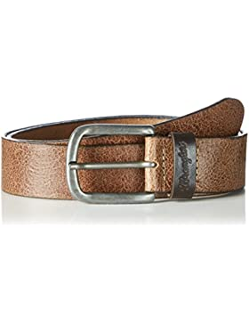 Wrangler Herren Sioux Belt Brown Gürtel