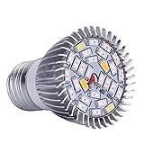 Merssavo 28W E27 LED volles Spektrum wachsen Betriebs-Glühlampe für Innenpflanze-Blumen-Gewächshaus und Garten-hydroponische flanzen die wachsen
