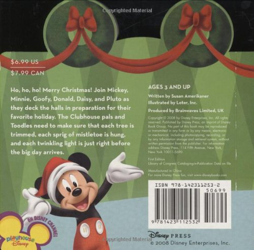 Clubhouse Christmas (Mickey Mouse Clubhouse)