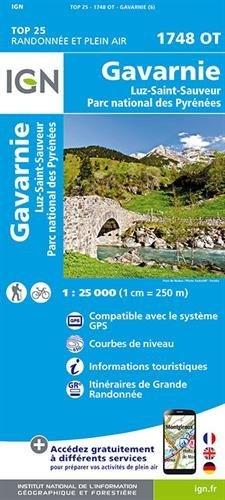 Gavarnie / Luz-Saint-Sauveur / Parc Naturel Regional des Pyr 2016 (Top 25 & série bleue - Carte de randonnée) por IGN